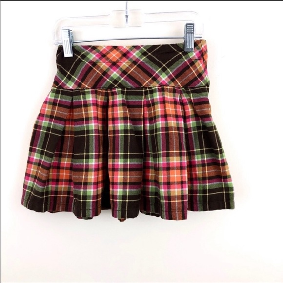 Gymboree Other - Gymboree Plaid Flannel Pleated Skirt